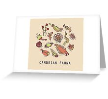 Cambrian Critters Greeting Card