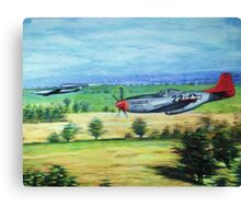 the chase-tuskeegee airmen series Canvas Print