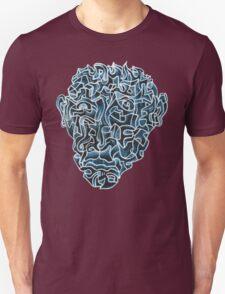Abstract Head (self portrait) Unisex T-Shirt