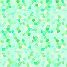 Stained Glass Spring Green by ThistleandFox