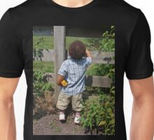 Peeking Over Unisex T-Shirt