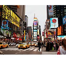 time square. Photographic Print