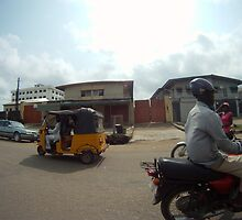 Driving in Lagos #7 by CrystalCWaters