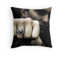Senior 2010 Class Ring Throw Pillow