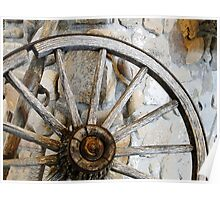 Wagon Spare Wheel Poster
