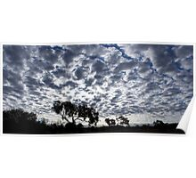 Difference Clouds - Stuart Highway Poster