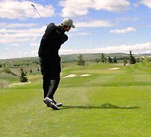 Golf Swing G by Al Bourassa
