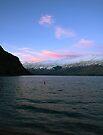 The Lone Buoy, Kingston , south island, NZ by Odille Esmonde-Morgan