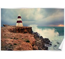 Lighthouse at Robe Poster