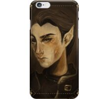 thief portrait iPhone Case/Skin