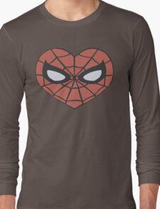 Spider-Man Heart T-Shirt Long Sleeve T-Shirt