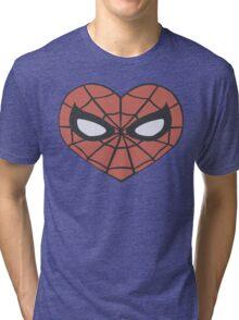 Spider-Man Heart T-Shirt Tri-blend T-Shirt
