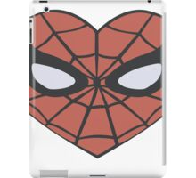 Spider-Man Heart T-Shirt iPad Case/Skin