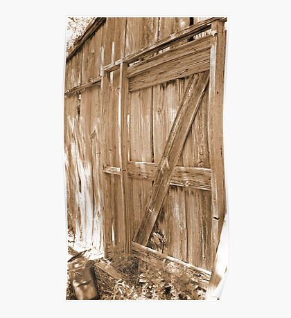 Back Door to the Mercantile Poster