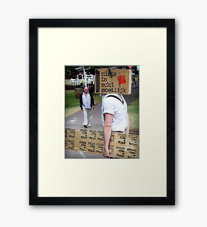 Adelaide Fringe 2014 Framed Print