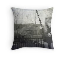 Swing to the Sky Throw Pillow