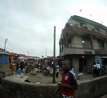 Driving in Lagos #8 by CrystalCWaters