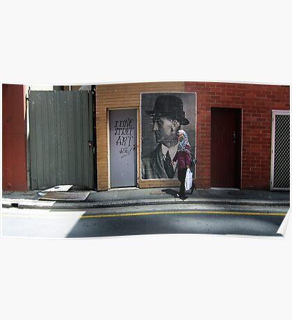 I Love Street Art Du U Tu Poster