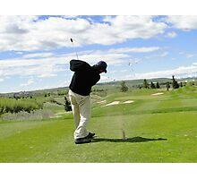 Golf Swing H Photographic Print