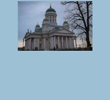 Finland. Helsinki. Lutheran Cathedral. Unisex T-Shirt