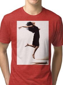 Leap into the unknown Tri-blend T-Shirt