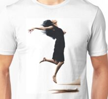 Leap into the unknown Unisex T-Shirt