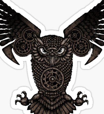The owl Sticker