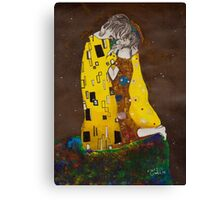 il bacio Canvas Print