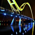 Infinity bridge @ night by robwhitehead