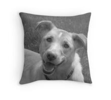 Happy Cooper Throw Pillow