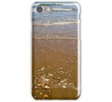 Waves Breaking on a Sandy Beach iPhone Case/Skin