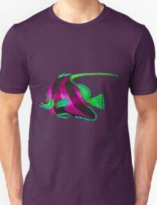 odd purple fish painting Unisex T-Shirt