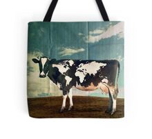 Surreal Bovine Atlas Tote Bag