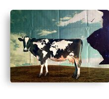 Surreal Bovine Atlas Canvas Print