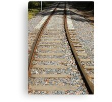 Railway Track Canvas Print