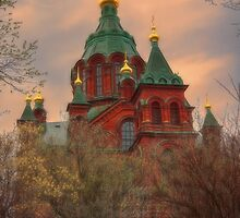 Finland. Helsinki. Russian Orthodox Cathedral. by vadim19