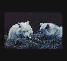 Arctic Wolves Love Baby Tee