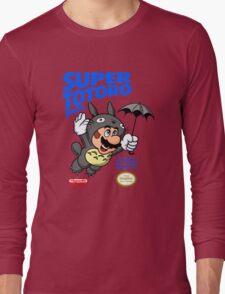Super Totoro Bros Long Sleeve T-Shirt