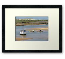 'Drifting', Burnham Overy Staithe Framed Print