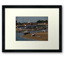 Burnham Overy Staithe, Norfolk Framed Print