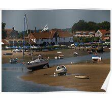 Burnham Overy Staithe, Norfolk Poster