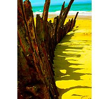 90 mile shipwreck - Trinculo series 3 Photographic Print