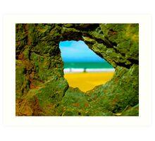 90 mile shipwreck - Trinculo series 5 Art Print