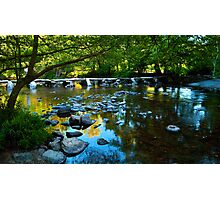 Tarr Steps Photographic Print
