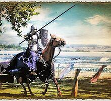 Charging Knight by Samuel Vega