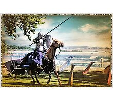 Charging Knight Photographic Print