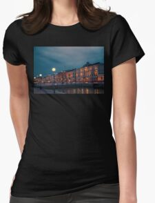 Finland. Helsinki. Waterfront. Womens Fitted T-Shirt