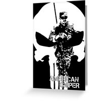 AMERICAN SNIPER CHRIS KYLE THE DEVIL OF RAMADI THE LEGEND Greeting Card