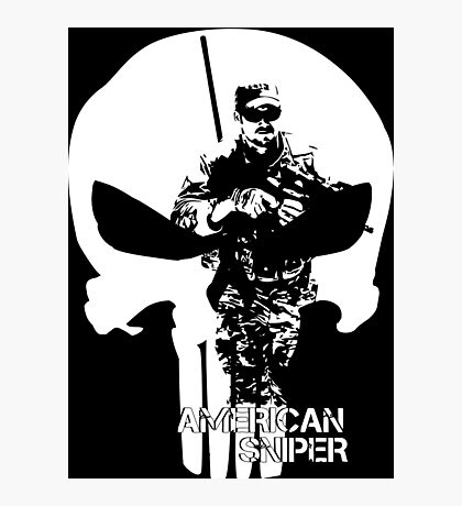AMERICAN SNIPER CHRIS KYLE THE DEVIL OF RAMADI THE LEGEND Photographic Print