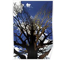 Rusty Tree Poster